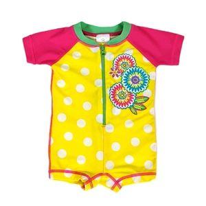 Hanna Andersson Baby UV Sunblock Swimmy Rashguard